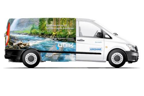 Unik_Drikkevann_servicebil